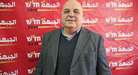 عشيّة مسيرة الأولّ من أيار... رئيس الجبهة، اغباريّة: نسعى لأكبر وحدة عربيّة - يهوديّة ضد الفاشيّة