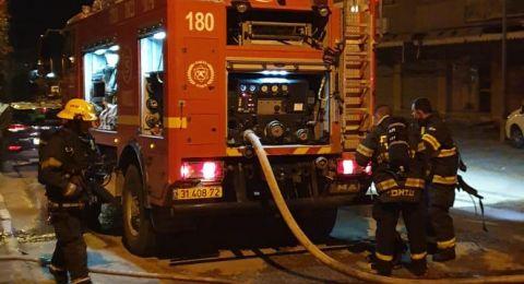 المكر : اندلاع حريق في حانوت حلوى دون وقوع اصابات
