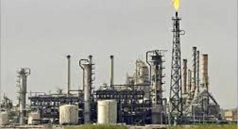 انخفاض انتاج الغاز في حوض