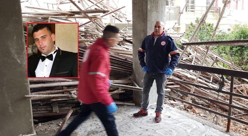 حيفا: مصرع فراس ياسين من عرابة اثر انهيار
