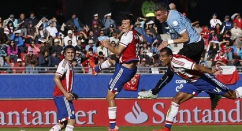 كوبا امريكا : أوروجواي تكتفي بالتعادل مع باراجواي وتصعد لدور الثمانية بكوبا أمريكا