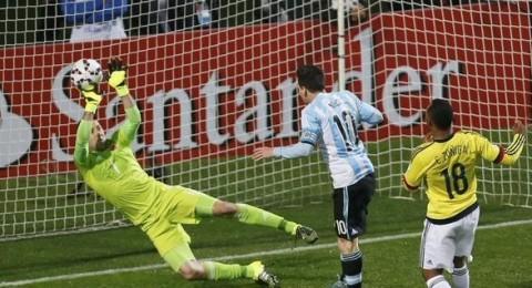 كوبا امريكا ..الارجنتين تقصي كولومبيا وتتأهل إلى نصف النهائي بركلات الترجيح