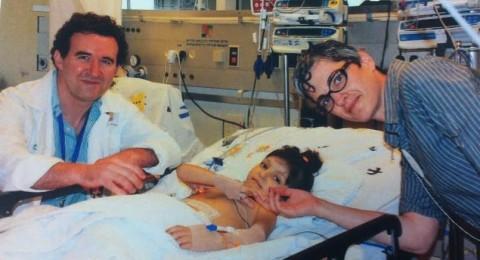 دانا اسدي تتلقى الكبد بعد صراع مع مرضها منذ ولادتها