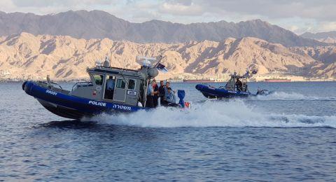 مصرع سيدة وإصابة 6 أشخاص اثر انقلاب قارب في ايلات
