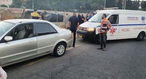 حادث طرق بحي الفاخوره في الناصرة