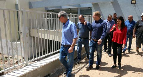 النهضة العمرانية في الجلبوع: بتكلف 11 مليون شيكل، تم بناء أقسام جديدة في ابتدائية المقيبلة