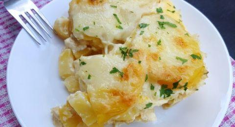 طريقة عمل صينية بطاطس بالجبنة