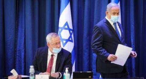نتنياهو لـ غانتس: تطبيق السيادة أو الذهاب الى الانتخابات