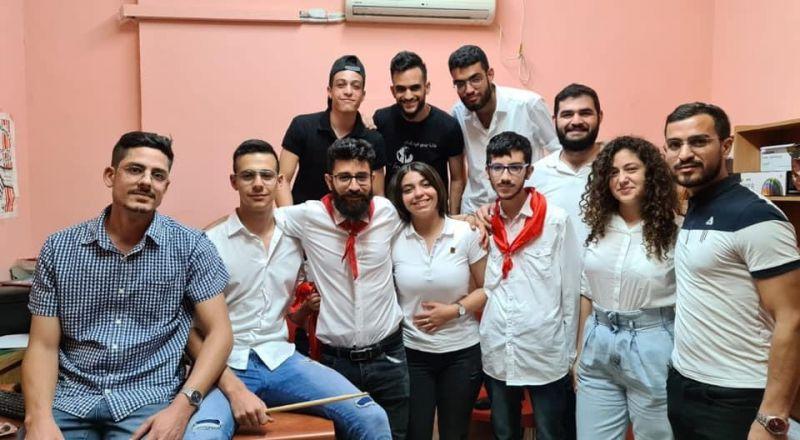 شام أبو دبي سكرتيرة لفرع الشبيبة الشيوعية - الناصرة خلفًا للمحامي كارلو رشرش