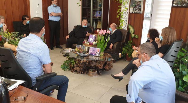 مراقب الدولة يزور بلدية الناصرة