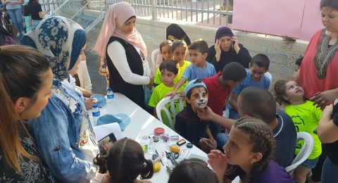 أجواء الفرح والبهجة تسود مخيم مجلس يافة الناصرة
