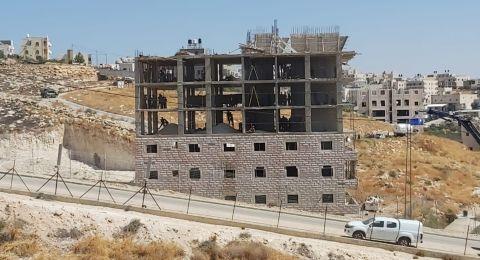 دعوة لإقامة صلاة الجمعة في واد الحمص تضامنا مع اصحاب المنازل المتضررين