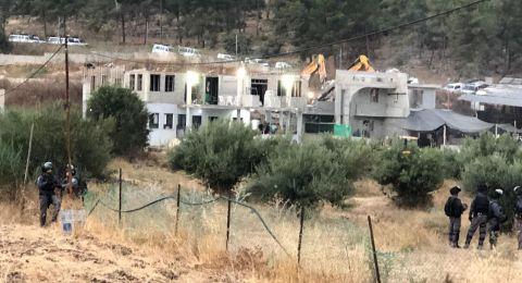 اطلاق سراح آخر معتقلي عملية الهدم في عرعرة.... مصطفى محمود يونس