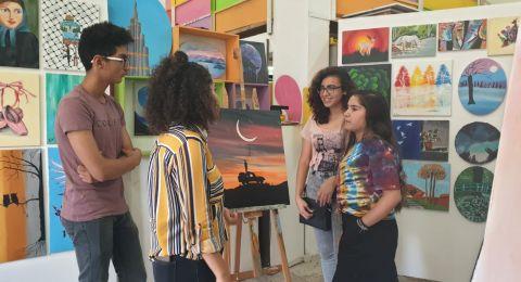 يافة الناصرة: افتتاح معرض للفن التشكيلي بمركز المرسم