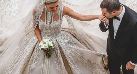 نجلُ إيلي صعب يتزوّج بزفافٍ أسطوريّ.. وفُستان العروس ساحرٌ بكافّة المقاييس!