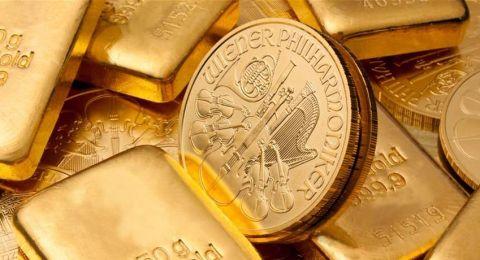 الذهب يرتفع بفعل توترات الشرق الأوسط لكن صعود الدولار يحد من المكاسب