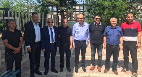 زيارة المدير العام للوزارة لبلدات إكسال، كفر مندا ،دير حنّا وشعب