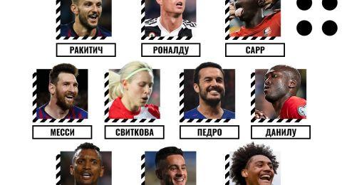 رونالدو وميسي ينافسان على جائزة أفضل هدف بأوروبا
