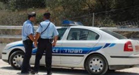 سخنين: اعتقال مشتبه بحرق سيارة تابعة لسيدة