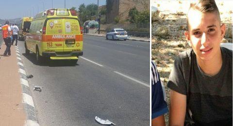 الطالب أيوب خطيب من شعب .. ضحية حادث الطرق قرب البروة