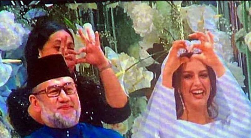 تفاصيل سرية عن قصة حب ملكة جمال روسيا وملك ماليزيا.. هل فعلاً انفصلا؟