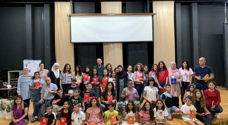 مخيم للكتابة الإبداعية للعشرات من أبناء الشبيبة في مدينة طمرة