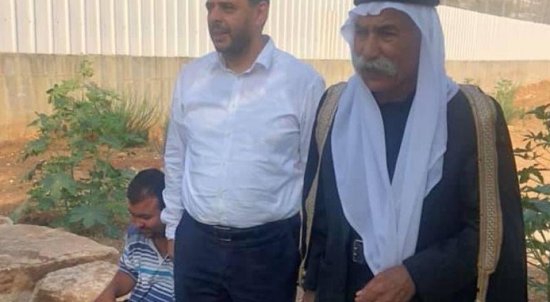 الشيخ صياح الطوري حرًا طليق