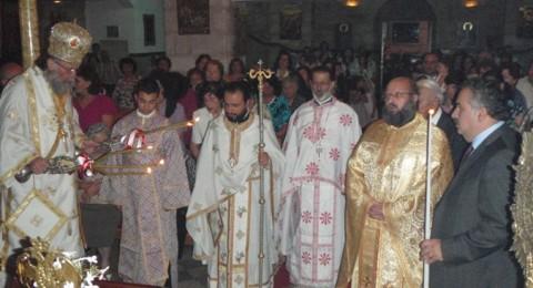 ممثل البطريرك ثيوفيلوس يترأس الاحتفالات الدينية بعيد التجلي في رام الله