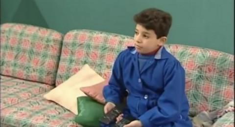 طفل جميل وهناء في المسلسل أصبح عريسًا