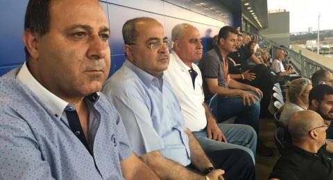 نهائيا، مباراة سخنين امام مـ حيفا على استاد الدوحة