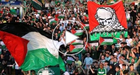 جماهير سيلتيك تتحدى اليويفا بجمع تبرعات لفلسطين