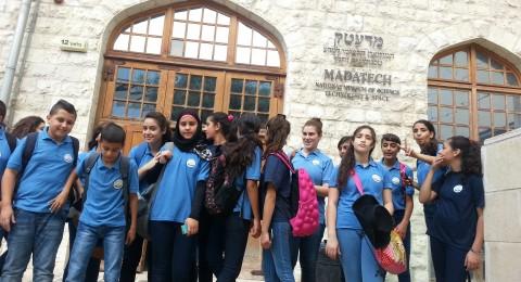 يوم علوم مميز في متحف العلوم لطلاب طبقة صفوف السابع  في مدرسة البشائر للعلوم - سخنين