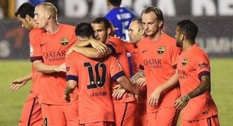 الإصابة قد تحرم برشلونة من خدمات نيمار وراكيتيتش أمام ملقا