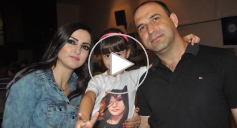 دير الاسد فخورة باطلالة ابنتها، الفنانة منال موسى