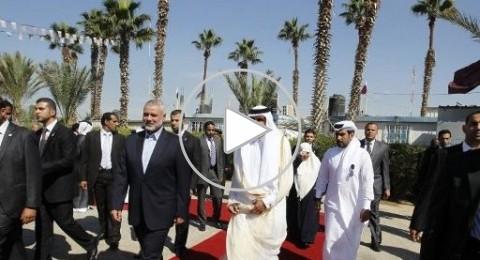تحريض اسرائيلي على امير قطر لزيارته غزة
