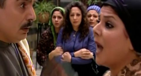 """صباح الجزائري وعباس النوري يستذكران أجمل مشهد جمعهما في """"باب الحارة"""""""