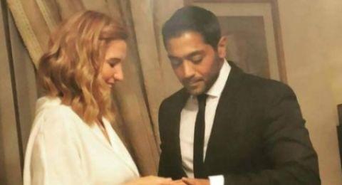 أول تعليق لهنا شيحة بعد زواجها من أحمد فلوكس