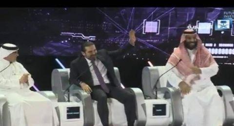 بن سلمان يمازح الحريري: