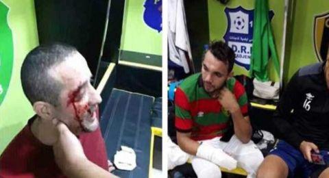 الجزائر: أحداث عنف خطيرة في مباراة كرة قدم ولاعبين تعرضوا لطعنات