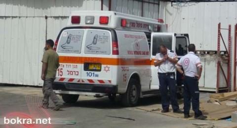 حادث عمل في بيت شيمش: مصرع عامل من الضفة الغربية