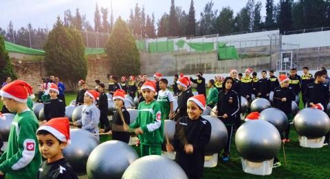 يافة الناصرة: جمعية اولمبيك تفتتح الموسم الرياضي 2015