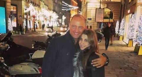 نانسي عجرم مع زوجها في باريس وقصي خولي يتغزّل بها