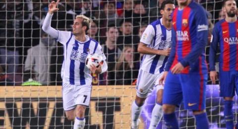 كأس ملك إسبانيا: برشلونة يقضي على ريال سوسيداد بخماسية ويعبر إلى نصف النهائي