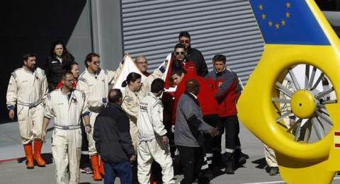 نقل ألونسو إلى المستشفى بعد حادث قوي بتجارب فورمولا1
