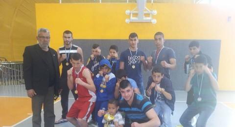 مفاجأه جديدة ونجاح اخر من انجازات فرع الملاكمة التابع لمركز محمود درويش الثقافي-عرابة