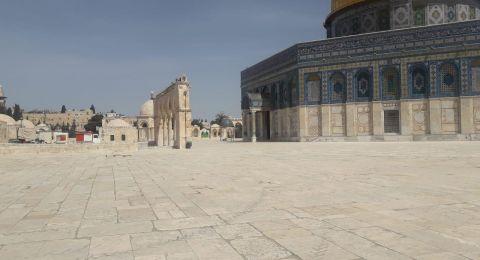 أصوات وتكبيرات في سماء القدس لرفع البلاء عن شعبنا
