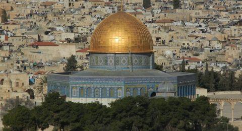 تعليق الصلاة في المسجد الأقصى بدءً من الغد
