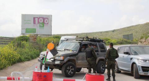 اجراءات فلسطينية مشددة بالضفة لإغلاق