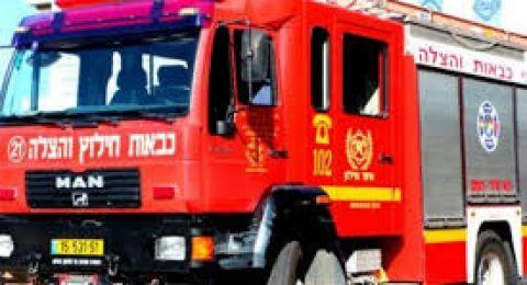 الناصرة: اندلاع حريق في محمص دون وقوع اصابات