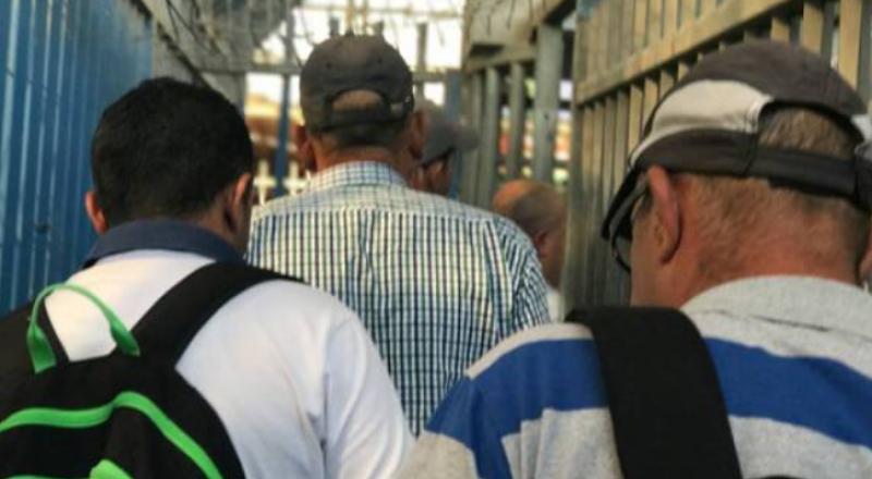 مطالب بتوفير ظروف معيشة إنسانية وتأمين صحي للعمال الفلسطينيين في البلاد